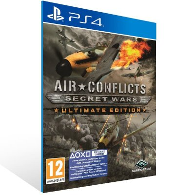 Air Conflicts Secret Wars Ultimate Edition - Ps4 Psn Mídia Digital