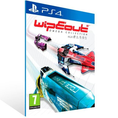 Wipeout Omega Collection - Ps4 Psn Mídia Digital