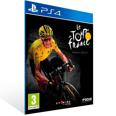 Tour De France 2017 - Ps4 Psn Mídia Digital