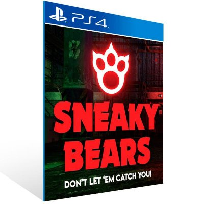 Sneaky Bears Ps Vr - Ps4 Psn Mídia Digital