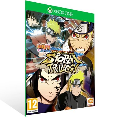 Naruto Shippuden Ultimate Ninja Storm Trilogy - Xbox One Live Mídia Digital