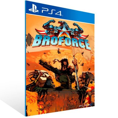 Broforce - Ps4 Psn Mídia Digital