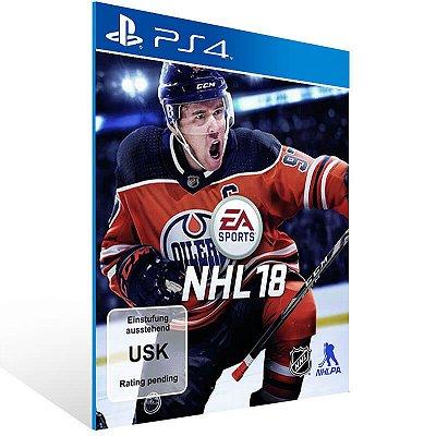 NHL 18 Standard Edition - Ps4 Psn Mídia Digital