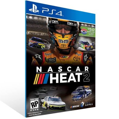 Nascar Heat 2 - Ps4 Psn Mídia Digital