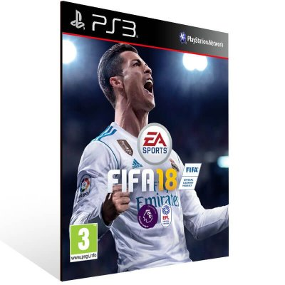 FIFA 18 Legacy Edition - Ps3 Psn Mídia Digital