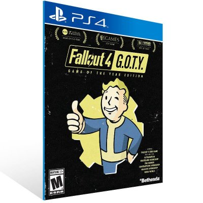 Fallout 4 Game of the Year Edition - Ps4 Psn Mídia Digital