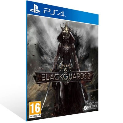 Blackguards 2 - Ps4 Psn Mídia Digital