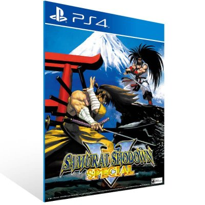 Samurai Shodown V Special - Ps4 Psn Mídia Digital