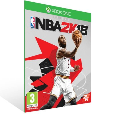 NBA 2K18 - Xbox One Live Mídia Digital