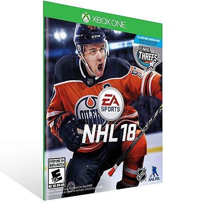 EA SPORTS NHL 18 - Xbox One Live Mídia Digital
