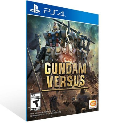 Gundam Versus - Ps4 Psn Mídia Digital