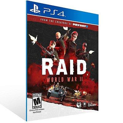 RAID World War 2 - Ps4 Psn Mídia Digital