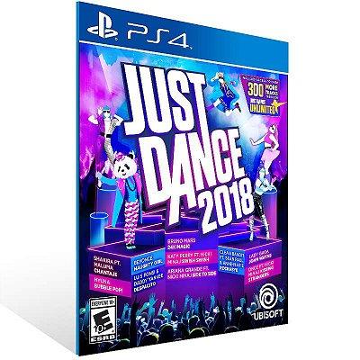Just Dance 2018 - Ps4 Psn Mídia Digital