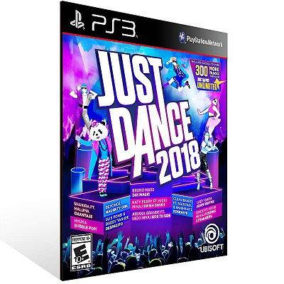 Just Dance 2018 - Ps3 Psn Mídia Digital