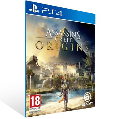 Assassins Creed Origins - Ps4 Psn Mídia Digital