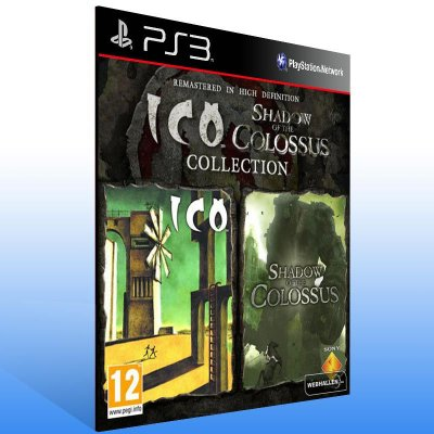 ICO & Shadow of the Colossus Collection - Ps3 Psn Mídia Digital
