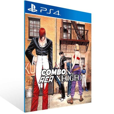 Combo The King of Fighters 94 95 96 - Ps4 Psn Mídia Digital