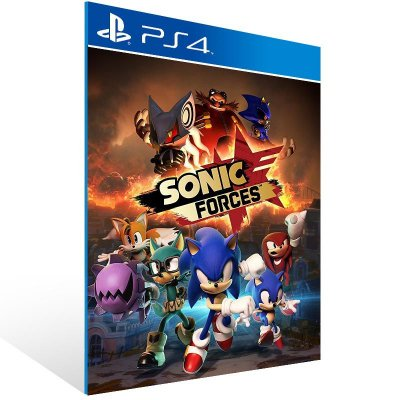 SONIC FORCES Digital Bonus Edition - Ps4 Psn Mídia Digital