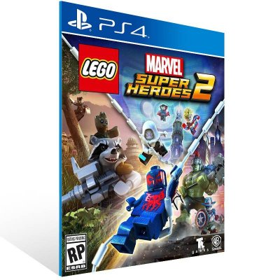 LEGO Marvel Super Heroes 2 - Ps4 Psn Mídia Digital