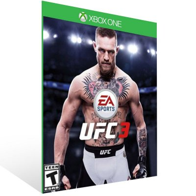 UFC 3 - Xbox One Live Mídia Digital