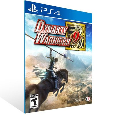 Dynasty Warriors 9 - Ps4 Psn Mídia Digital