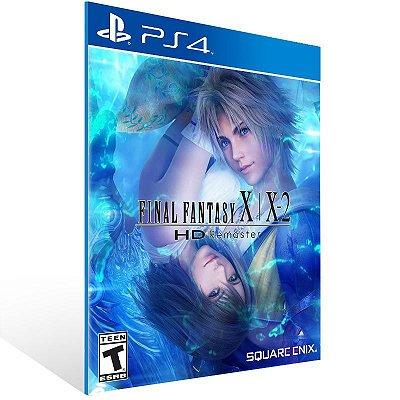 FINAL FANTASY X/X-2 HD Remaster - Ps4 Psn Mídia Digital