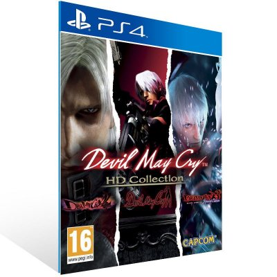 Devil May Cry HD Collection - Ps4 Psn Mídia Digital