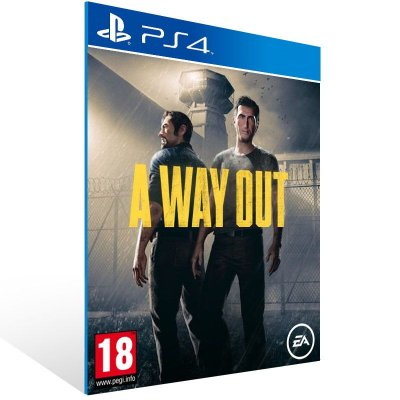 A Way Out - Ps4 Psn Mídia Digital