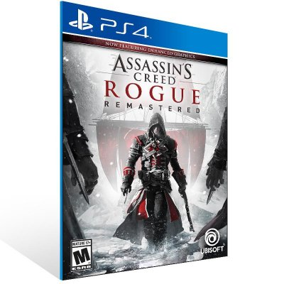 Assassins Creed Rogue Remastered - Ps4 Psn Mídia Digital