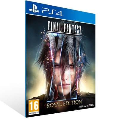 Final Fantasy XV Royal Edition - Ps4 Psn Mídia Digital