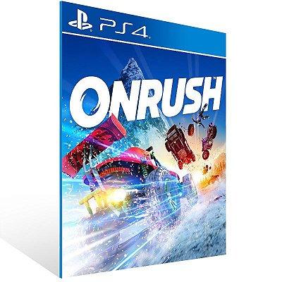 ONRUSH Standard Digital Edition - Ps4 Psn Mídia Digital