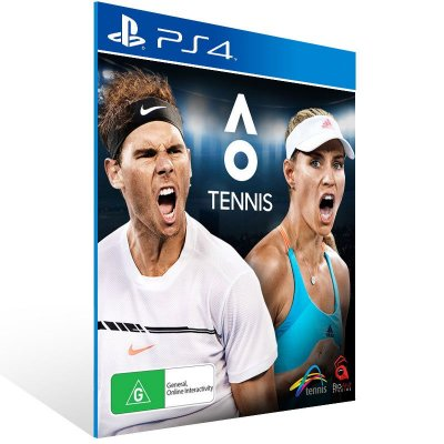 AO International Tennis - Ps4 Psn Mídia Digital