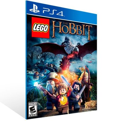 Lego The Hobbit - Ps4 Psn Mídia Digital