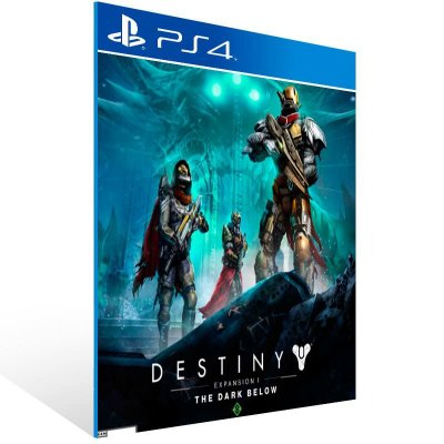 Destiny Expansion 1 The Dark Bellow - Ps4 Psn Mídia Digital
