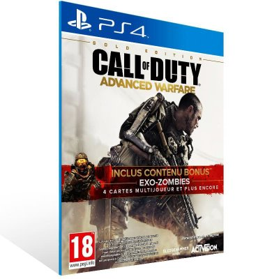 Call Of Duty Advanced Warfare - Ps4 Psn Mídia Digital