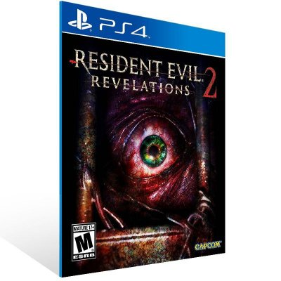 Resident Evil Revelations 2 - Ps4 Psn Mídia Digital