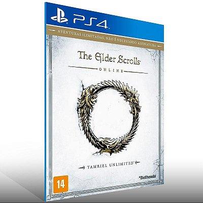 The Elder Scrolls Online Tamriel Unlimited - Ps4 Psn Mídia Digital