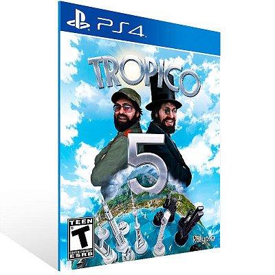 Tropico 5 - Ps4 Psn Mídia Digital