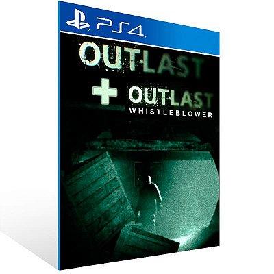 Outlast Bundle Of Terror - Ps4 Psn Mídia Digital