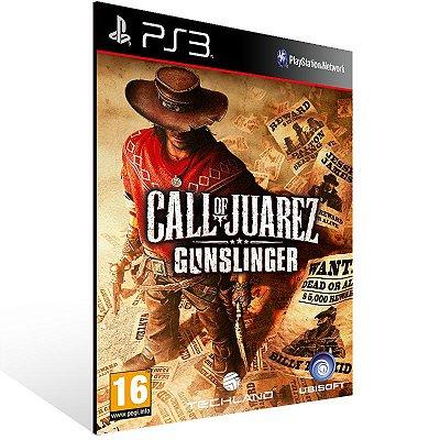 Call Of Juarez Gunslinger - Ps3 Psn Mídia Digital