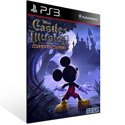 Castle Of Illusion Starring Mickey Mouse - Ps3 Psn Mídia Digital