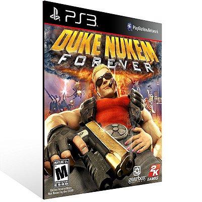 Duke Nukem Forever - Ps3 Psn Mídia Digital