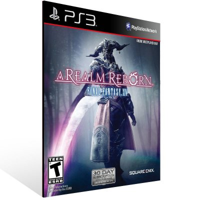 Final Fantasy 14 A Realm Reborn - Ps3 Psn Mídia Digital