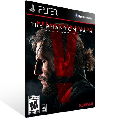 Metal Gear Solid 5 The Phantom Pain - Ps3 Psn Mídia Digital