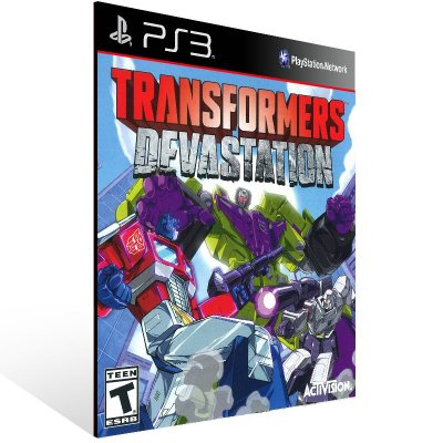 Transformers Devastation - Ps3 Psn Mídia Digital