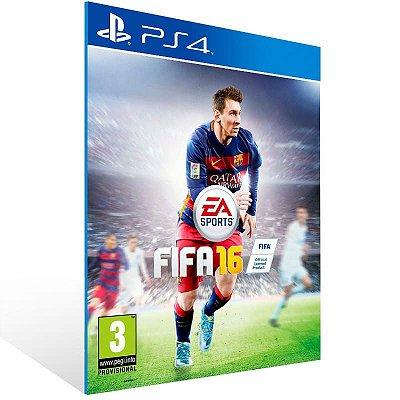 Fifa 16 ( Inglês ) - Ps4 Psn Mídia Digital
