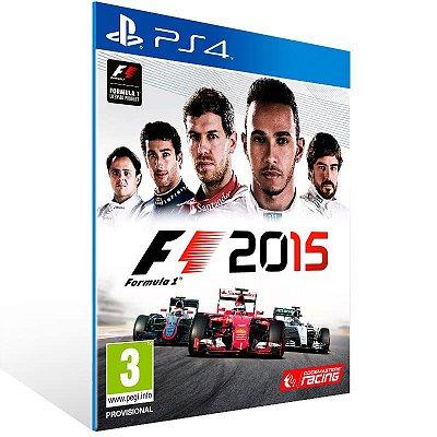 F1 2015 - Ps4 Psn Mídia Digital