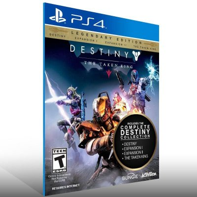 Destiny The Taken King Legendary Edition - Ps4 Psn Mídia Digital