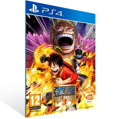 One Piece Pirate Warriors 3 - Ps4 Psn Mídia Digital