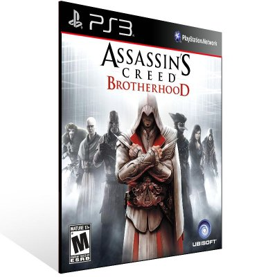 Assassins Creed Brotherhood - Ps3 Psn Midia Digital